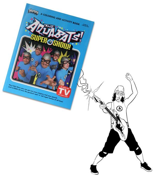 aquabats coloring pages - photo#11